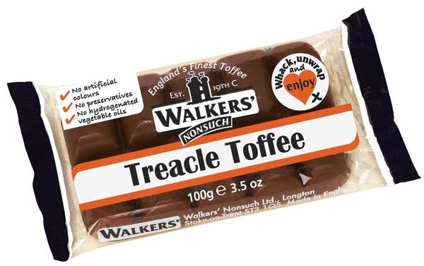 Walkers Toffee- 10 Pack