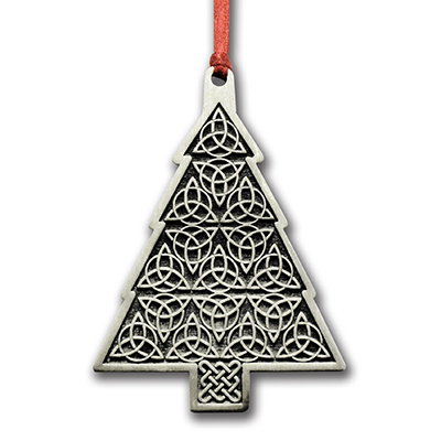 Celtic Christmas Tree Ornament