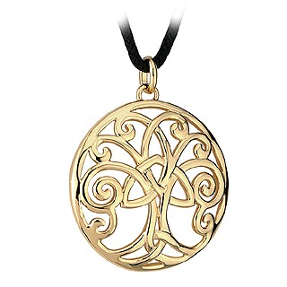 Gold Tree of Life Pendant S44918