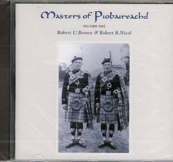 Masters of Piobaireachd CD vol 1