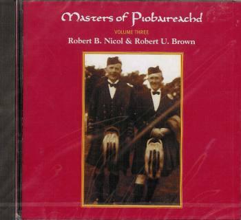 Masters of Piobaireachd CD vol 3