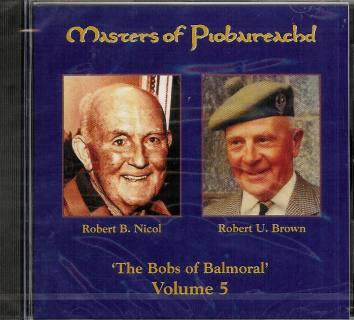 Masters of Piobaireachd CD vol 5