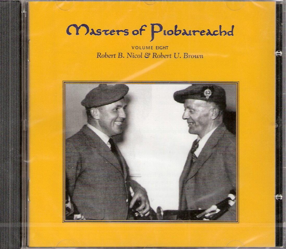 Masters of Piobaireachd CD vol 8