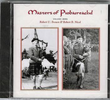 Masters of Piobaireachd CD vol 7