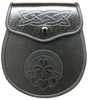 Claddagh Embossed Sporran MSI-1017