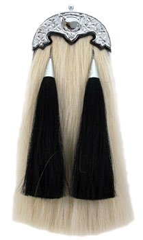 Horsehair Sporran with Shamrock Cantle MSI-5000