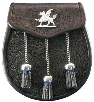 Welsh Leather Sporran MSW-1000