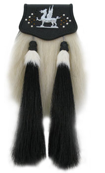 Welsh Yak Hair Sporran MSW-3000