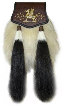 Welsh Yak Hair Sporran MSW-4000