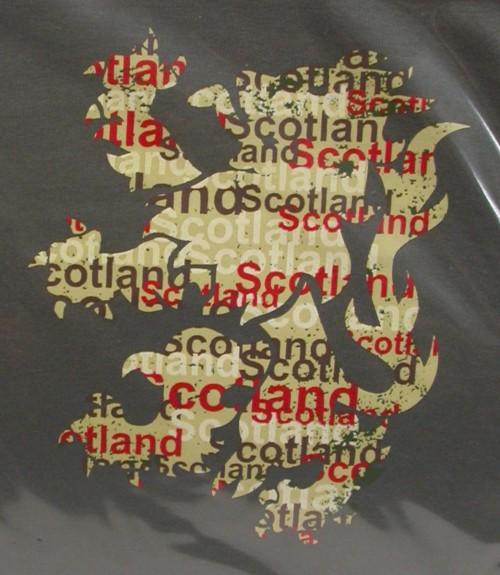 Charcoal Rampant Lion Shirt