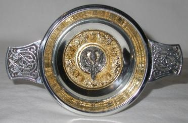Clan Crested Quaich