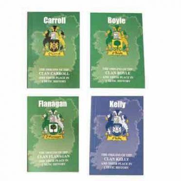 Irish & Scottish Clan Mini Books