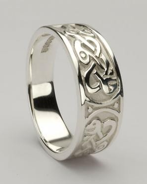 Ladies Celtic Ring CTR1