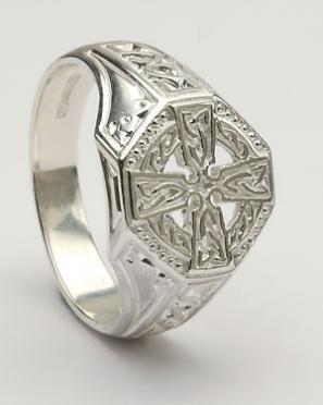 Celtic Unisex Cross Ring CROSS1