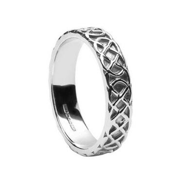 Ladies Closed Knot Band WED83