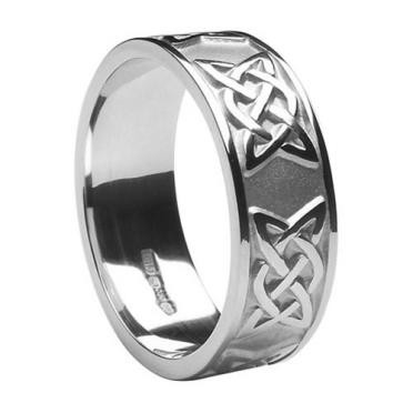 Mens Lovers Knot Band WED295