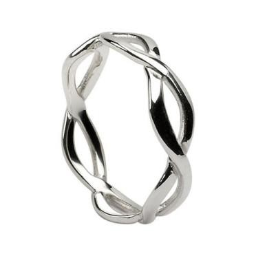 Mens Infinity Wedding Band WED164