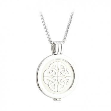 Celtic Knot Coin Pendant S45788