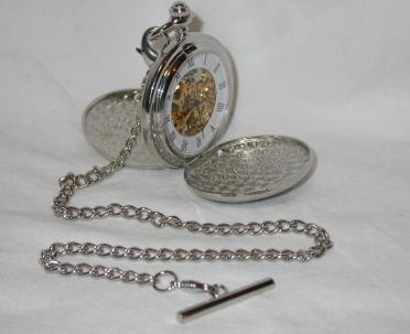 Mechanical Pocket Watch Open
