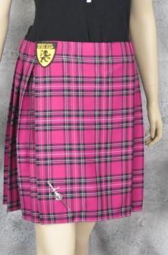 Pink Stewart Tartan