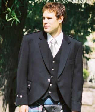 Argyle Band Jacket
