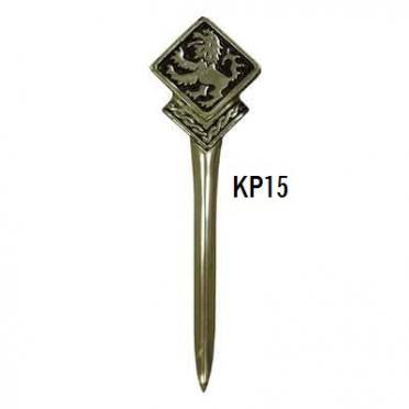 KP15 Rampant Lion Kilt Pin