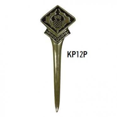 KP12P Thistle Kilt Pin