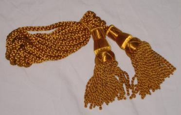 Gold Silk Cords
