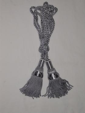 Silver Silk Cords