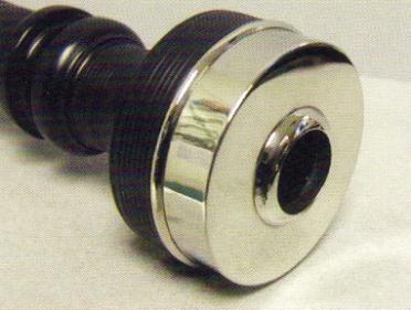 McCallum P1 Black Acetyl Bagpipes