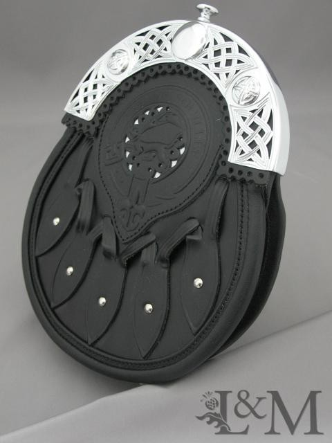 Leather Dress Sporran #MSL-1005