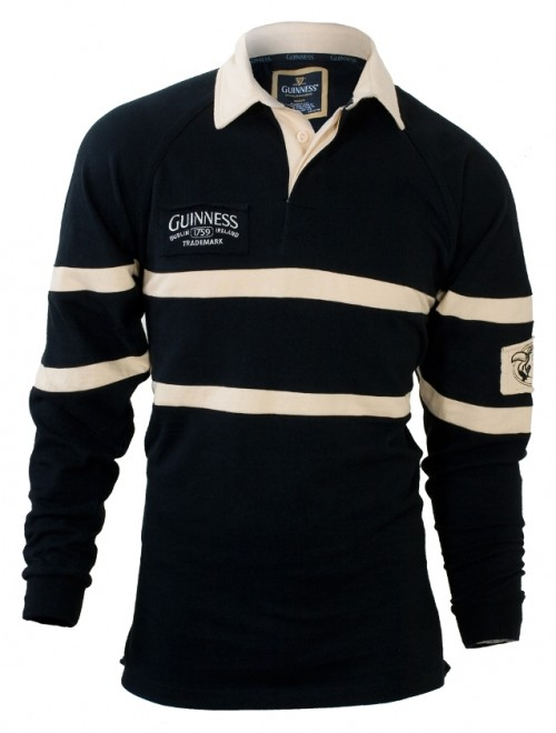 Guinness Classic Heritage Black & Cream Rugby G2002