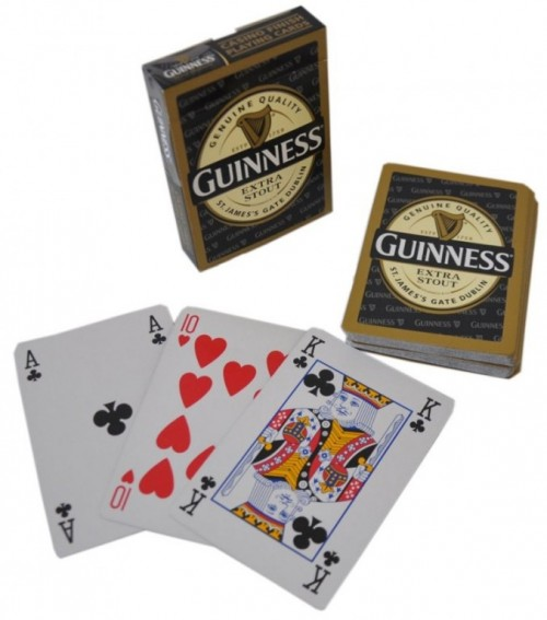 Guinness Label Playing Cards 02117