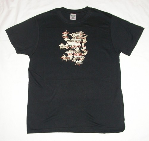 Rampant Lion Distressed T-Shirt S3003T