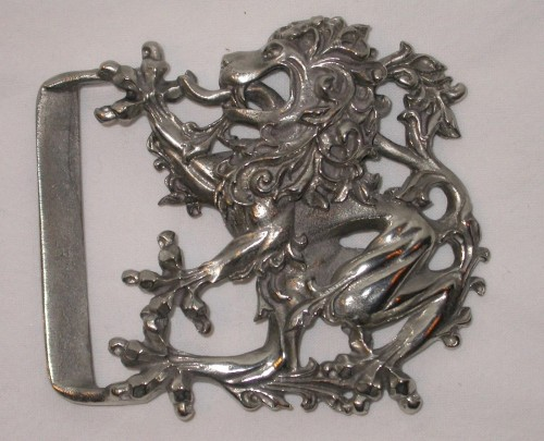 Baroque Lion Kilt Buckle