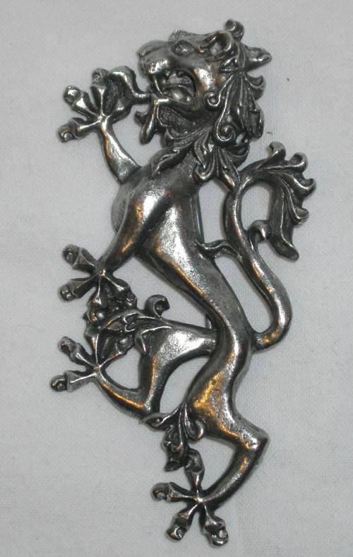 Rampant Lion Kilt Pin by Skyhawk