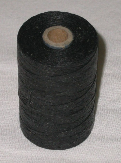 Waxed Black Hemp