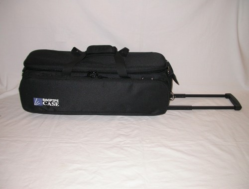 Kinnaird Wheeled Pipe Case for Bagpipes