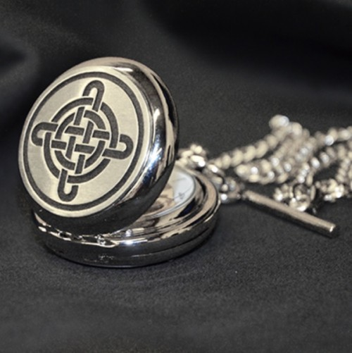 Celtic Knot Mechanical Pocket Watch