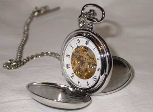 Mechanical Thistle Pocket Watch