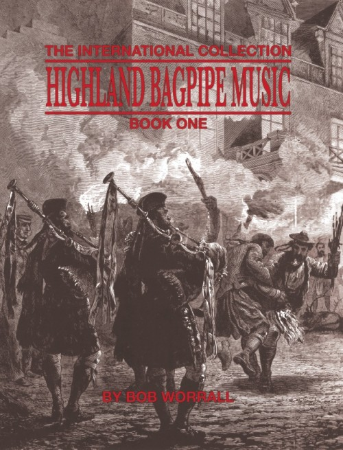 Highland Bagpipe Music Book One- Bob Worrall