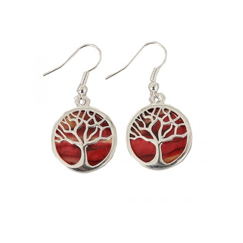 Heathergem Tree of Life Earrings HE89