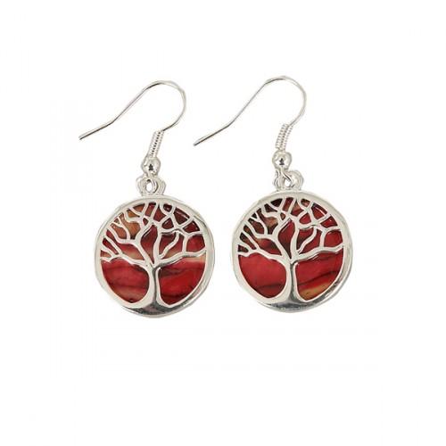 Heathergem Tree of Life Earrings HE89
