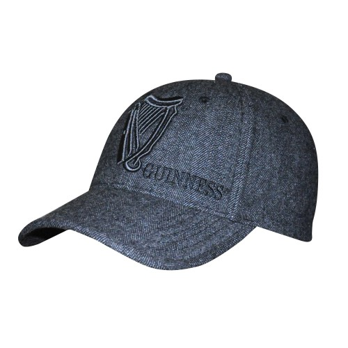 Guinness Tweed Vintage Baseball Hat GN9107
