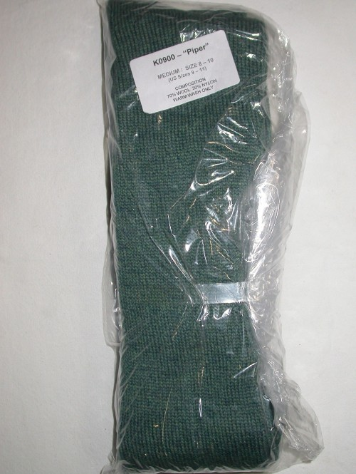 Gaelic Themes Piper Hose Lovat Blue Medium