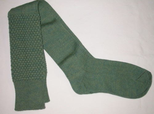 Gaelic Themes Piper Hose, Lovat Green, Small
