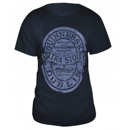 Guinness Distressed Label Shirt G6068