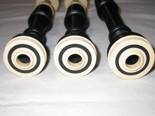 McCallum P3 Black Acetyl Bagpipes