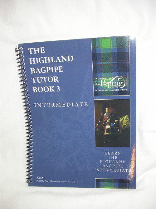Highland Bagpipe Tutor Book 3