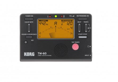 Korg TM-60 Digital Tuner Metronome